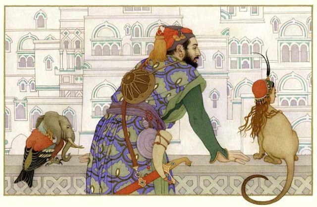 Arabian knights art.